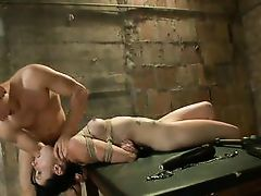 veruca bent over the table and fucked