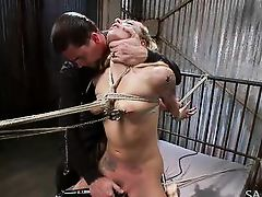 fragile blonde likes it rough