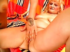 Granny Fucks Babe With A Strap-on - Porn Zone