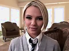 Ashlynn Brooke may only be a teen but this blonde babe has everything