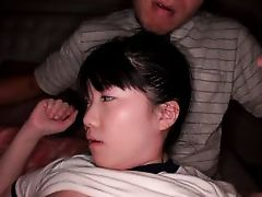 playful japanese girl gets loose