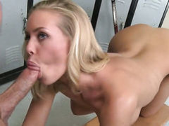 Nicole Aniston cant resist Peter Norths sturdy