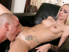 Blonde Erica Fontes makes dudes sexual fantasies come to life