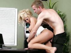Blonde pornstars is the boss now!