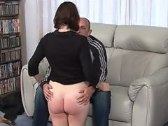 Bare bottom spanking 2