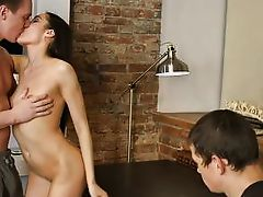he watches his wife get fucked by a better man
