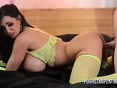 Pornstar Platinum - Amy Anderssen big tits play and fuck