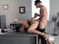Johnny Sins plays with sex starved Chanel Prestons love box
