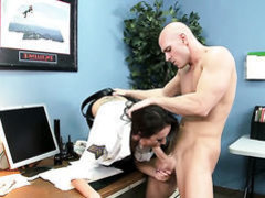 Johnny Sins makes his throbbing dick