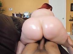 Big Booty Redhead PAWG MILF Marcy Diamond Shoots POV