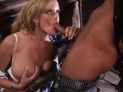 Stormy Daniels makes man happy by eating his love torpedo