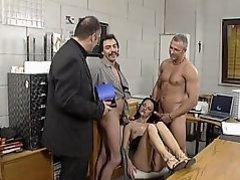 A 3some is not enough for UKR cock gobbler Angelique Morreau