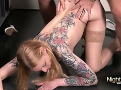German Amateur Kitty Blair Anal gefickt
