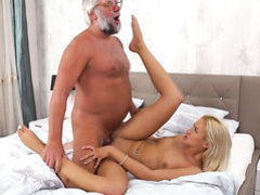 Blonde does dirty things and then gets