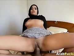 Cash Strapped Arab Girl Fucking White Guys Big Prick