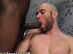 Muscly gay ebony amateur