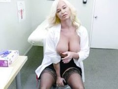 this busty doctor is a pervert
