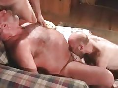 Cabin mountain sex with gay bears part1