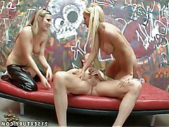 Turned on need haired fairy-haired bitch goddess Harmony Rose with giant