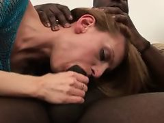 Always white woman's fancy...Big Ebony Cock!